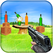 Bottle Shooting Expert 3d Game
