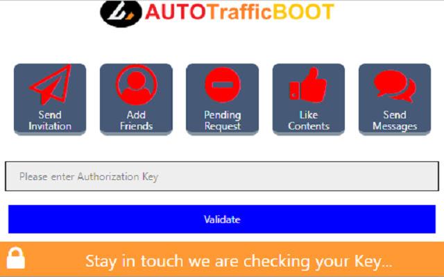 AutoTrafficBoot Facebook tools