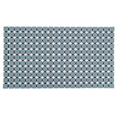 Коврик для ванной комнаты Ridder Nevis серый 68х39 см