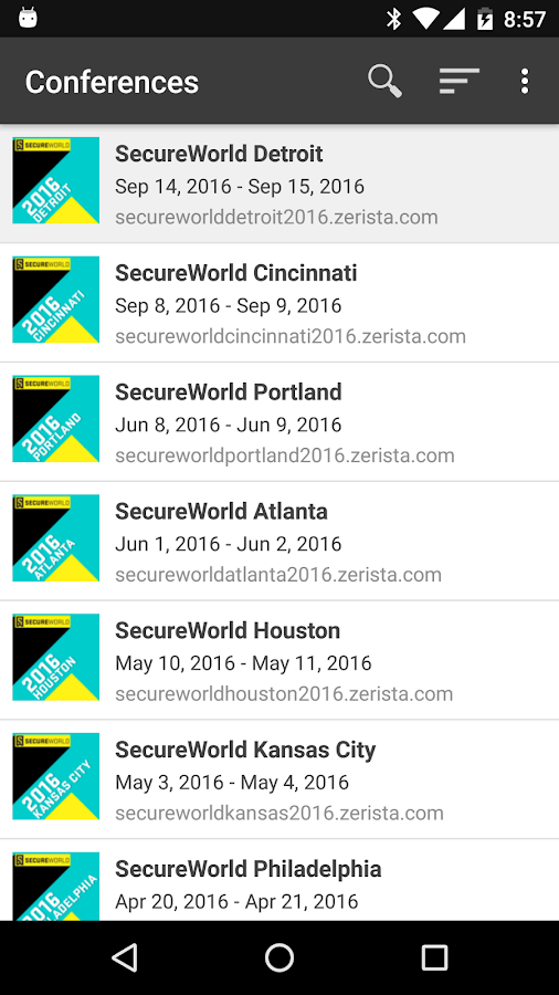 SecureWorld- screenshot
