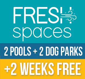 Fresh Spaces, 2 weeks free