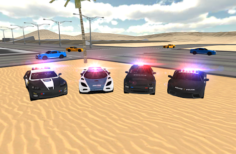 Police Car Driving Sim- screenshot thumbnail