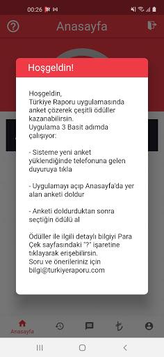 Türkiye Raporu screenshot 1