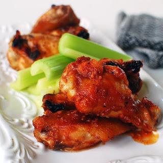 Korean-flavored Baked Chicken Wings