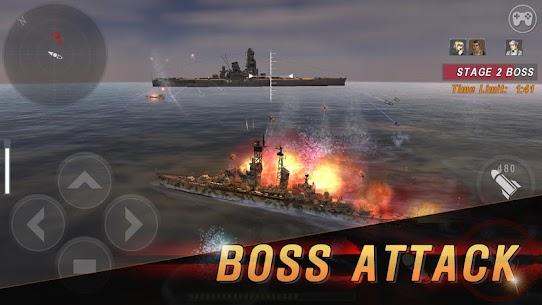 WARSHIP BATTLE: 3D World War II Mod Apk 3.4.0 (Unlimited Money) 6