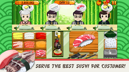 Sushi Friends-Best&Fun Restaurant Game for Girls 1.0.3 screenshots 2