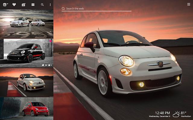 Fiat 500 Hd Wallpapers New Tab Theme