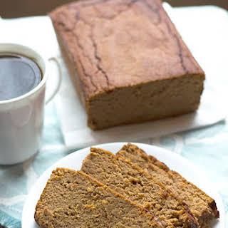Low Sugar Gluten Free Pumpkin Bread.