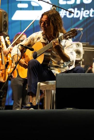 El guitarrista almeriense Tomatito.