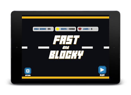 Fast and Blocky- screenshot thumbnail