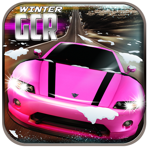 Winter Girls Car Racing
