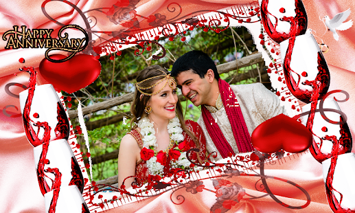 Marriage anniversary frames new free download apps on google play