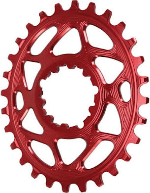 Absolute Black Spiderless GXP Direct Mount Oval Chainring for Boost alternate image 1