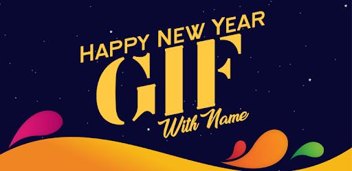 tekstualne čestitke za novu godinu New year GIF Maker with Name editor, Aplikacije na Google Playu tekstualne čestitke za novu godinu