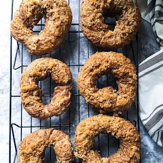 Brown Sugar Raisin Bagels (Bread Machine).