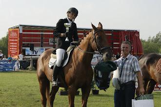Photo: I miejsce /konkurs nr 4/ - Natalia Kwaśnik na koniu HIALIT z SK *Dworna*