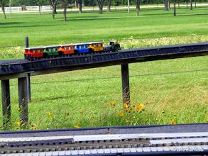 Photo: Caleb Roberts steamer and wagons     HALS Public Run Day 2015-0516 RPW