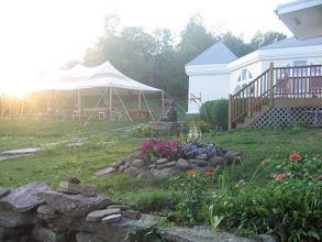 Photo: Yoga Ranch, NY - flower beds