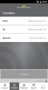 First Advantage Bank Mobile- screenshot thumbnail