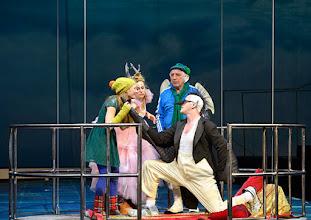 Photo: WIEN/ Akademietheater: DIE SCHNEEKÖNIGIN - Märchen von Hans Christian Andersen. Inszenierung: Anette Raffalt, Premiere 15. November 2014. Alina Fritsch, Nadia Migdal, Hans Dieter Knebel, André Meyer. Foto: Barbara Zeininger