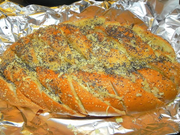 Put your bread on a large piece of tin foil that you can wrap...
