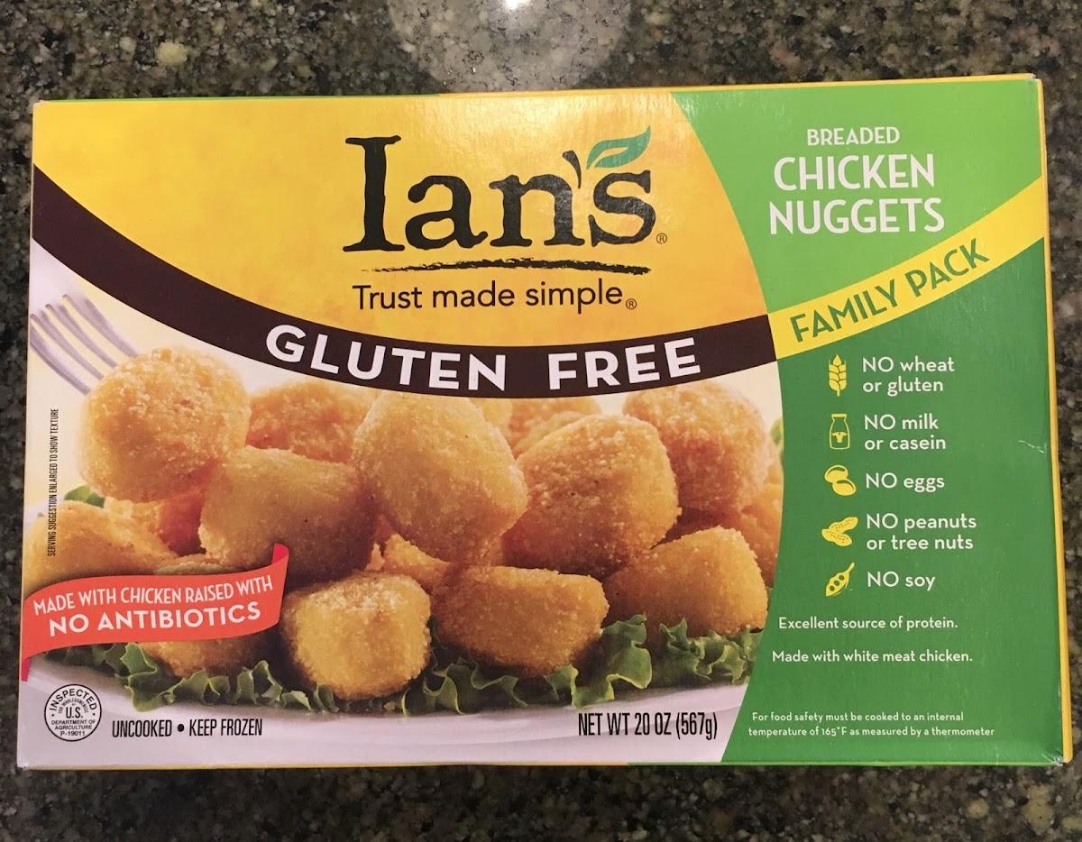 Gluten Free Breded Chicken Nuggets