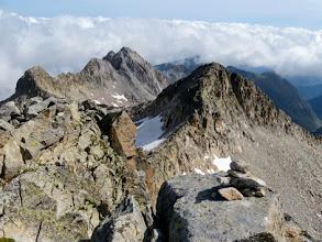 Photo: Tuc de Mulleres, si scende lungo la cresta fino al Coll, poi si salta giù! Bè, più o meno...