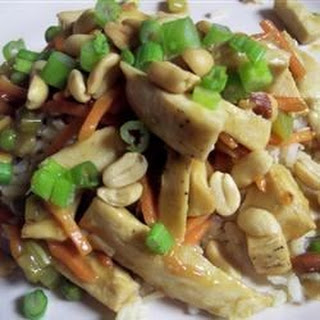 Chicken Honey Nut Stir Fry.