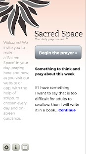 Sacred Space- screenshot thumbnail