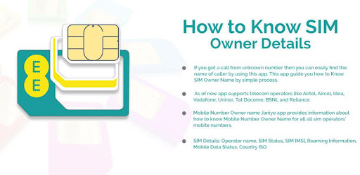 How to Know Sim Owner Name 1 0 (Android) - Download APK