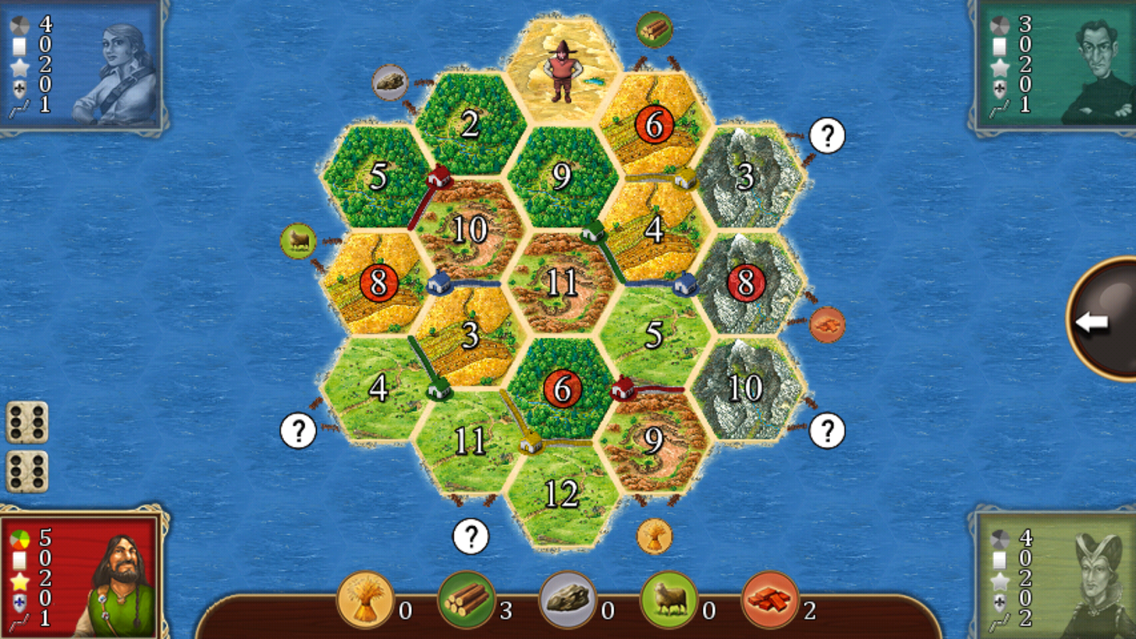 Catan Classic – Screenshot