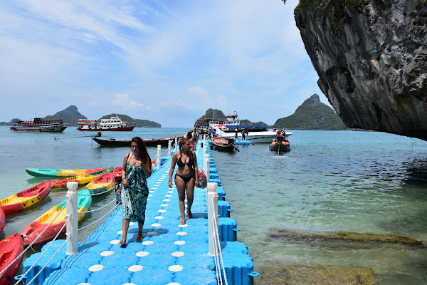 Make a stop at Koh Mae Koh