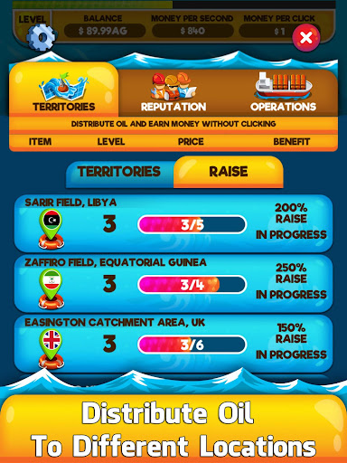 Oil Tycoon 2 - Idle Clicker Factory Miner Tap Game 1.0.3 de.gamequotes.net 2