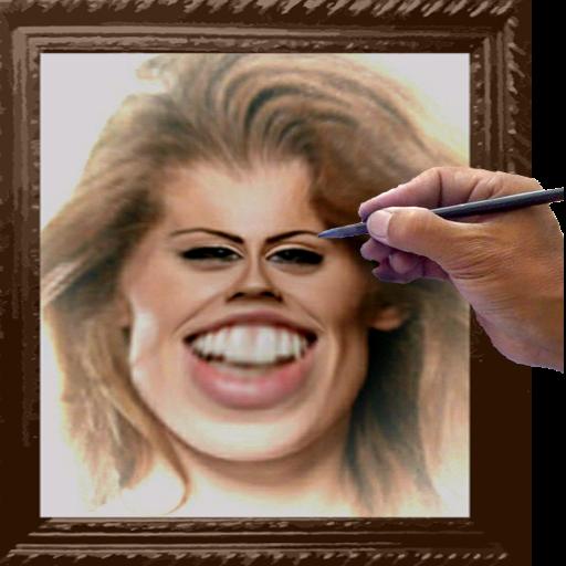 Caricatures Warp Face Photo