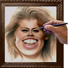 Caricatures Warp Face Cartoon icon