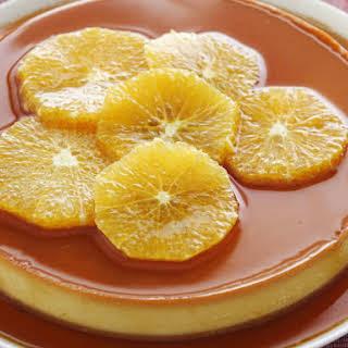 Orange Caramel Custard.
