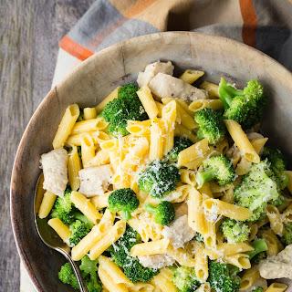 Chicken Broccoli Pasta with Parmesan.