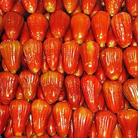 Rose Apples Bangkok Street Market.jpg by James Morris - Food & Drink Fruits & Vegetables ( street market, fruits, bangkok, rose apples )