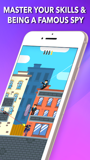 Mr Bullet - Spy Puzzles Game - screenshot