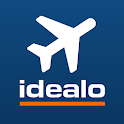 idealo flights - cheap airline ticket booking app icon