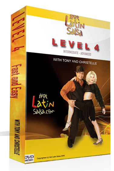 Level 4 - Salsa DVD  - Dance Courses Montreal, LaSalle Classes - Rive-Sud Bachata Lessons