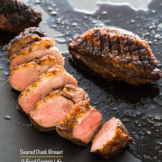 Crispy Seared Duck Breast.