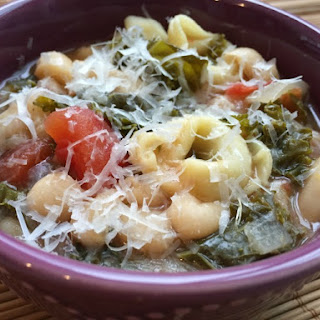 Slow Cooker Bean Tortellini Soup