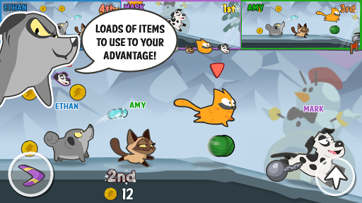 Pets Race - Fun Multiplayer PvP Online Racing Game Android app 2