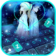 Anime Cute Love Keyboard Theme