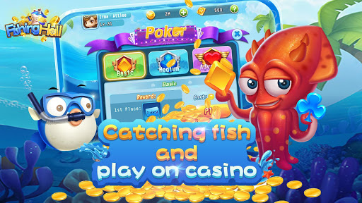 Fishing Hall-Free Slots,Poker,Fishing Saga 1.0.6 screenshots 12