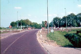 Photo: Tussen Eext en Gieten, weg afgesloten