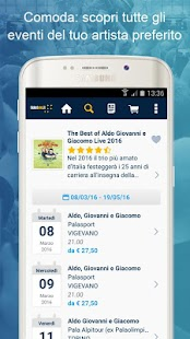 TicketOne.it- screenshot thumbnail