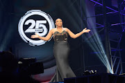 Hulisani Ravele hosted the 25th SAMA awards non-broadcast event held at Sun City on Friday.