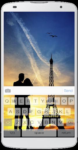 パリの愛キーボード